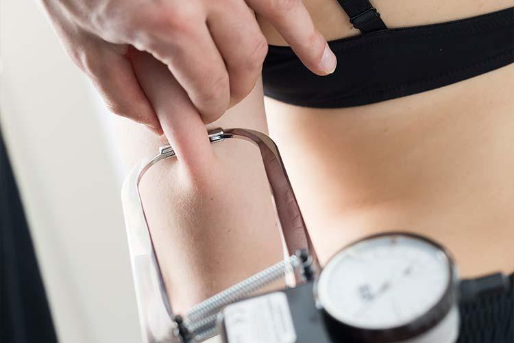 Körperfettmessung im PTA Cneter