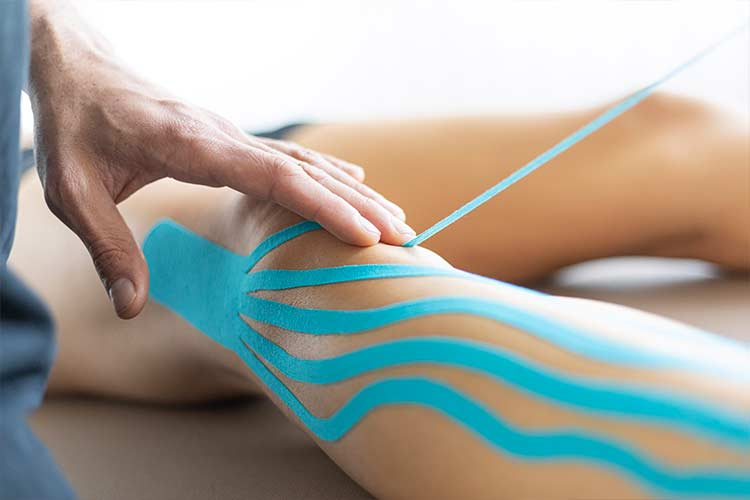 Lymphdrainage im PTA Center Stuttgart, Lymph-Tape