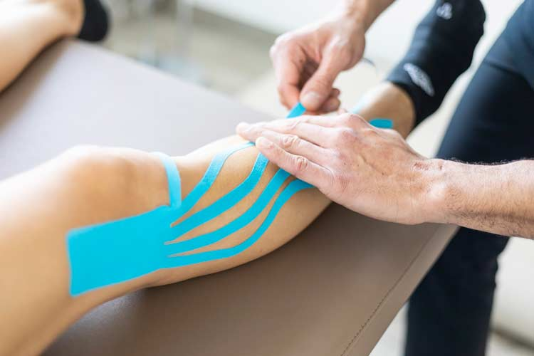Physiotherapie Lymphdrainage