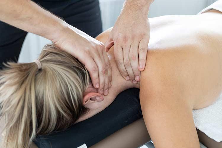 Sportmassage im Bereich Hals & Nacken