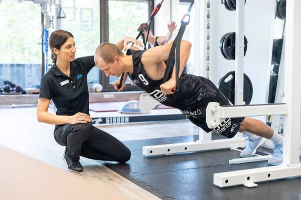 Training therapy for athletes