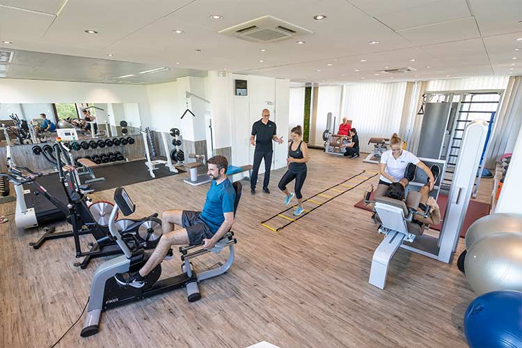 Trainingstherapie im Trainingsraum PTA Center Stuttgart